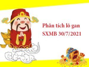 Phân tích lô gan SXMB 30/7/2021 thứ 6