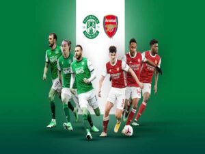 Dự đoán Hibernian vs Arsenal, 0h00 ngày 14/7, giao hữu CLB