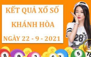 Phân tích xổ số Khánh Hòa thứ 4 ngày 22/9/2021